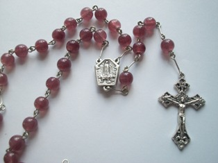 Our Lady of Fatima Rosary with Water from Fatima