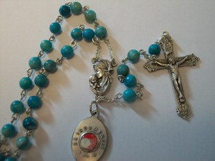 Our Lady of Guadalupe Rosary with Relic