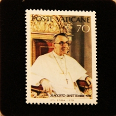 Pope John Paul I Stamp